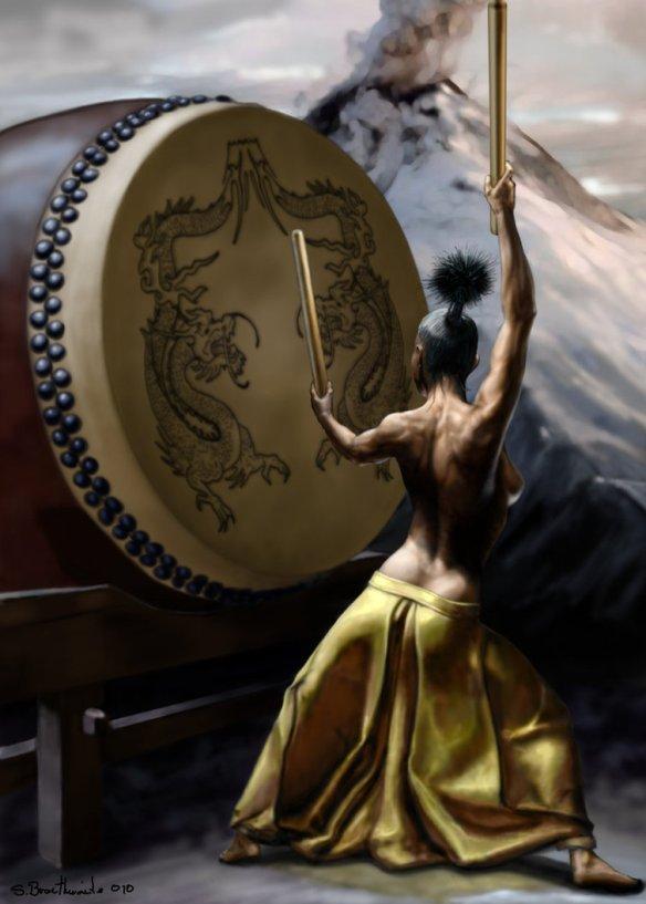 dragon_volcano_drum_by_SBraithwaite