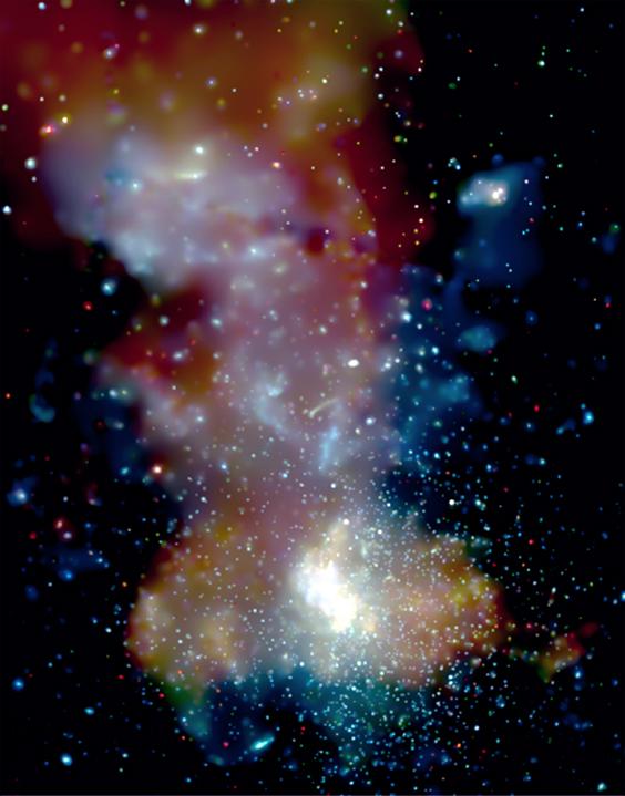 Center of Galaxy via NASA
