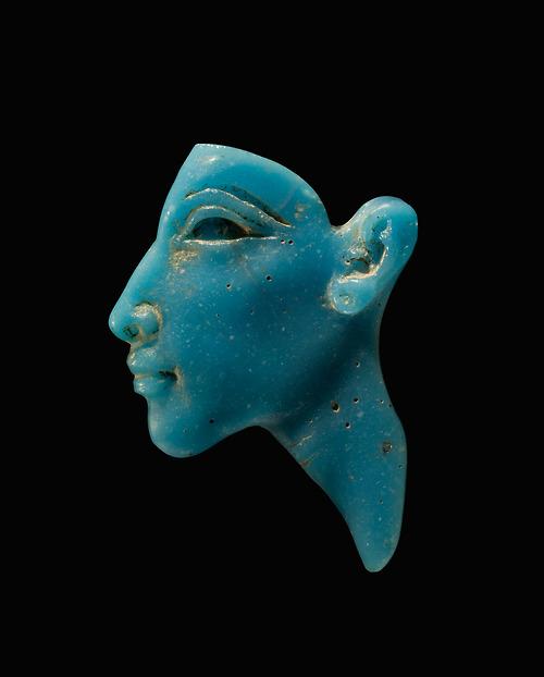 Face Inlay of the Pharaon Akhenaten