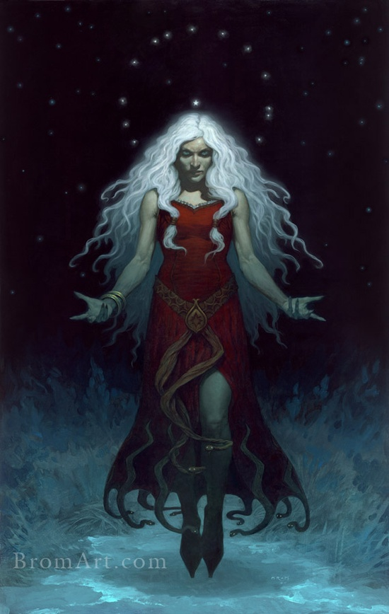 Perchta (aka Mrs. Claus) Brom