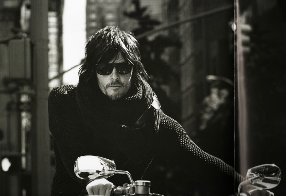 Norman Reedus bein all tactile