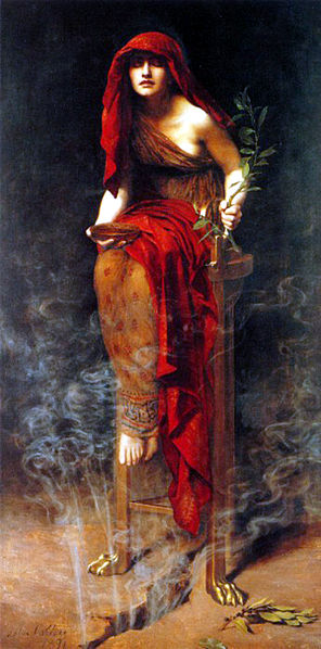 John Collier-priestess_of_Delphi