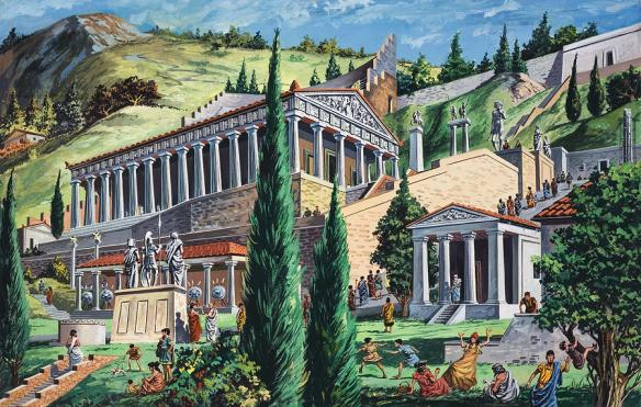 temple-of-apollo-at-delphi-giovanni-ruggero