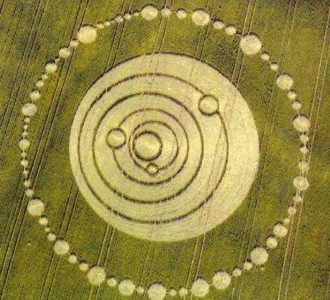 Crop Circle Longwood Warren Hampshire